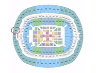 JOSHUA/KLITSCHKO FIGHT - 2 SPARE TICKETS (BLOCK 541)