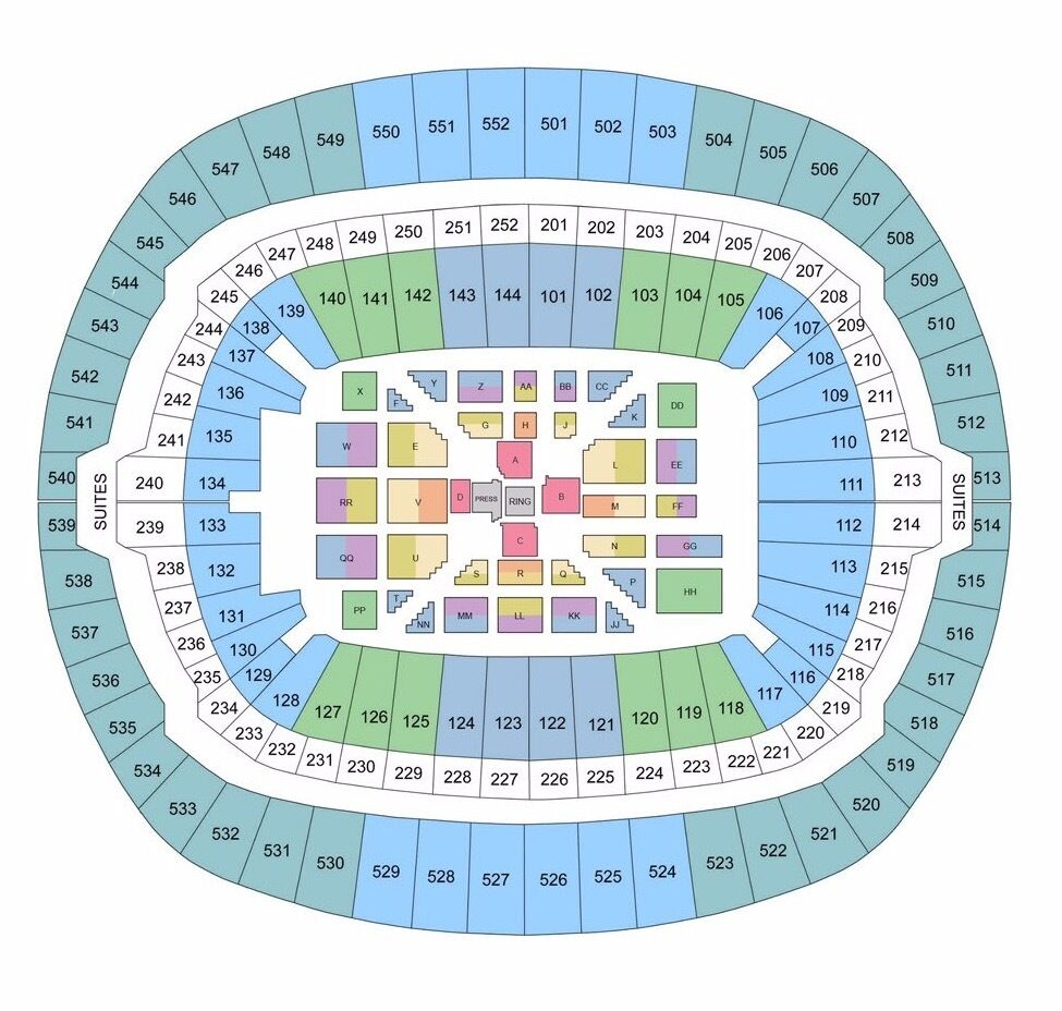 2 Tickets Anthony Joshua V Wladimir Klitschko Floor Seats