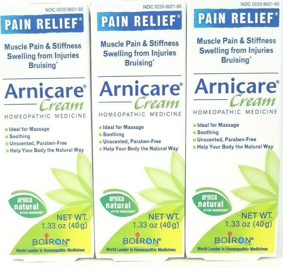 Boiron Homeopathics Arnica Cream 1.33 oz Homeopathic Gels Wa