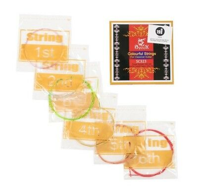 Classical Guitar Strings 28-43 28 - 43 Multi Coloured UK price best cheap EADGBE
