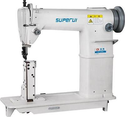 Superui Lt-810 Leather Heavy Duty Industrial Post Bed Sewing Machine New