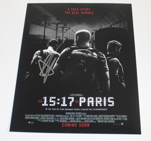 ANTHONY SADLER SIGNED '15:17 TO PARIS' 11X14 PHOTO w/COA ACTOR CLINT EASTWOOD