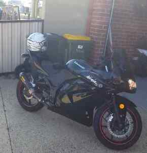 Black Kawasaki Ninja 250 Quinns Rocks Wanneroo Area Preview