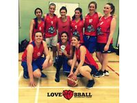 WOMEN'S BASKETBALL SESSIONS IN HACKNEY & CLAPHAM JUNCTION