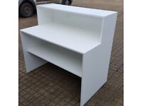Brand New white high gloss bar counter / reception desk for sale