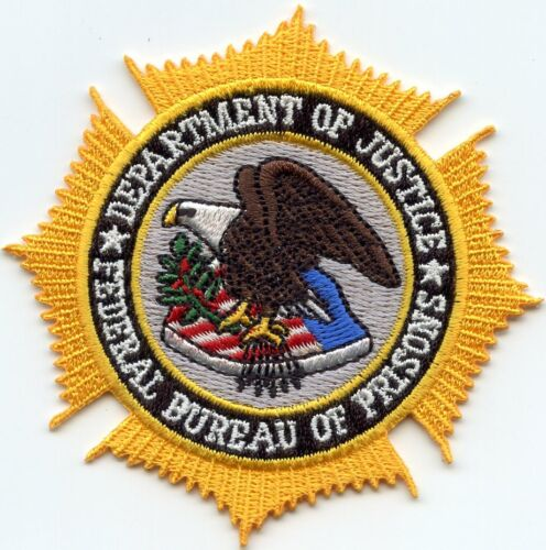 FEDERAL BUREAU OF PRISONS WASHINGTON DC colorful DOC CORRECTIONS police PATCH