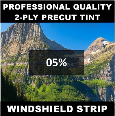 Dodge Ram 1500 Windshield tint strip precut 5% (Buyer- I Will Need Your Year)