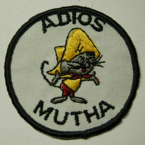 1970s Mexican American Power Patch - Adios Mutha