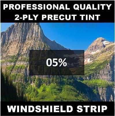 Chevy 1500 Silverado Truck Windshield tint strip precut 5% (Year Needed) Chevy 1500 Truck Windshield