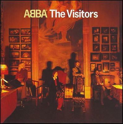 ABBA The Visitors 4 Extra Tracks Remastered CD NEW