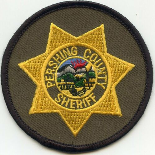 PERSHING COUNTY NEVADA NV Subdued Green SMALL SHERIFF POLICE PATCH