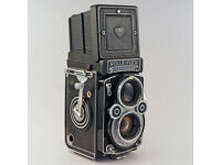 ROLLEIFLEX 3.5F vintage twin lens reflex camera