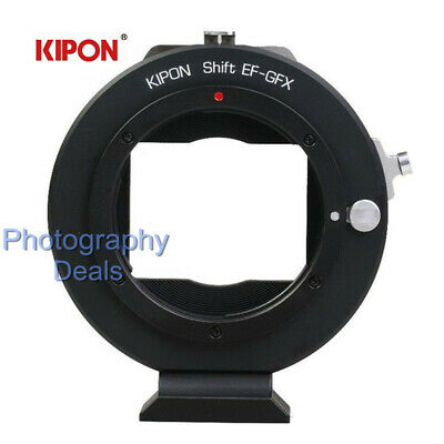 Kipon Shift Adapter for Canon EOS EF Mount Lens to Fuji GFX Medium Format Camera Canon Medium Format
