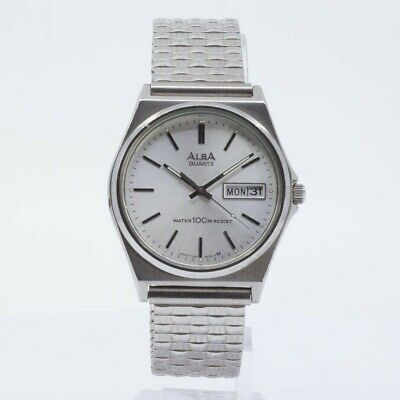 SEIKO ALBA QUARTZ Y143-8141 WATCH JAPAN JDM