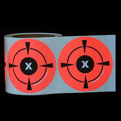 "250 Mega Pack 4"" Target Sticker Roll - Self Adhesive ""SimpleSpot"" Shooting Targe"