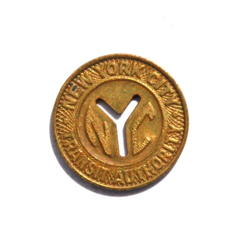 New York City Transit Authority Good For One Fare Transportation Token #2