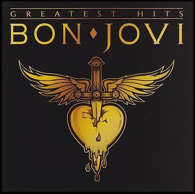 BON JOVI - GREATEST HITS CD ~ LIVIN ON A PRAYER~BED OF ROSES ~BEST OF JON