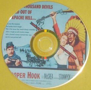 WESTERN 84: TROOPER HOOK (1957) Joel McCrea, Barbara Stanwyck, Earl Holliman