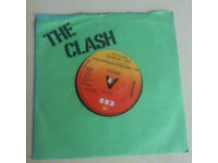 Vinyl single - - - The Clash: (White Man) in Hammersmith Palais / The Prisoner (1978 - S CBS 6383)