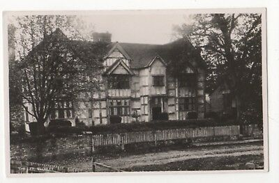 The Ley Weobley Herefordshire Vintage RP Postcard