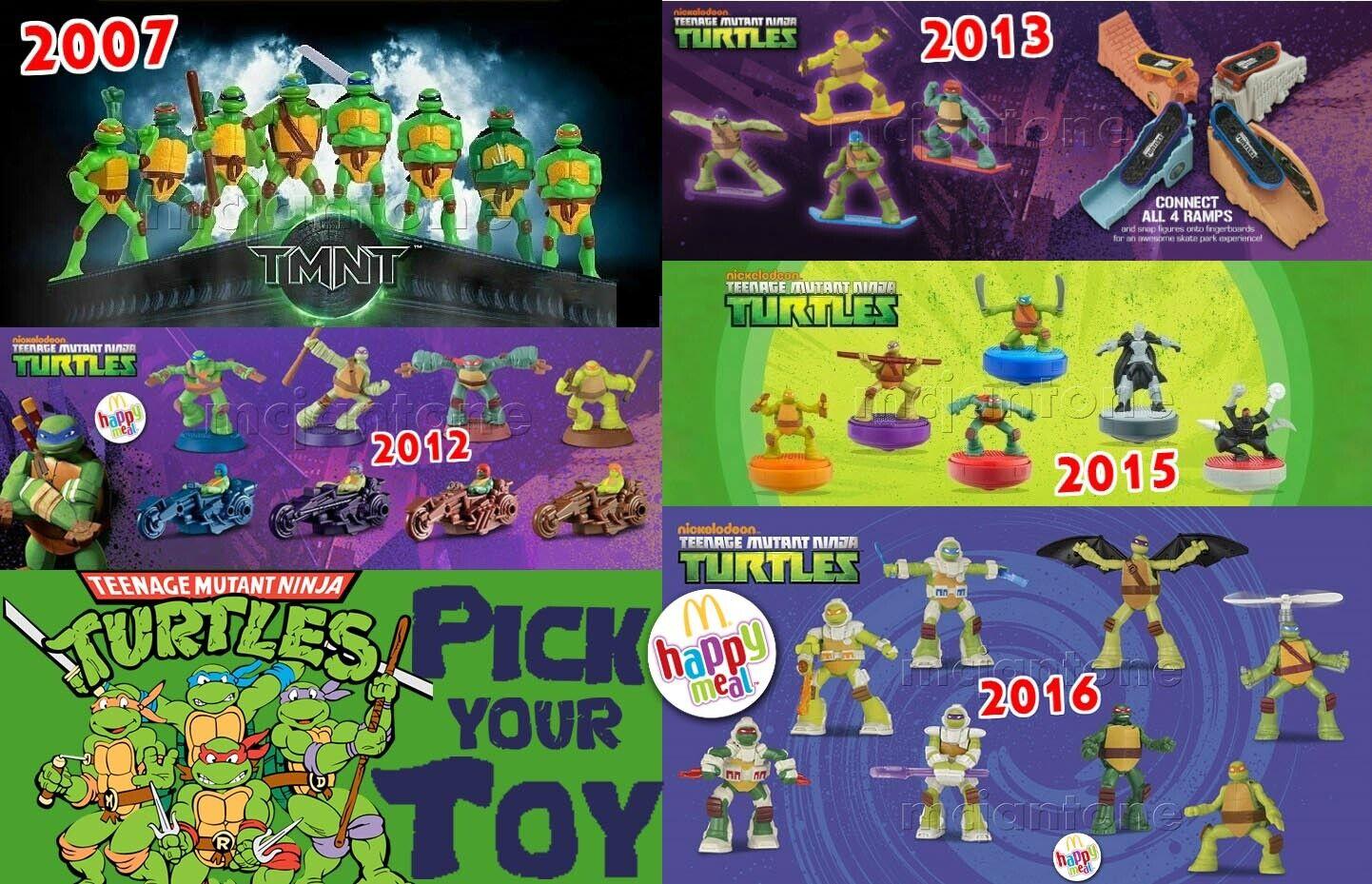 Mcdonald S 2007 12 13 2015 2016 Teenage Mutant Ninja Turtles Tmnt