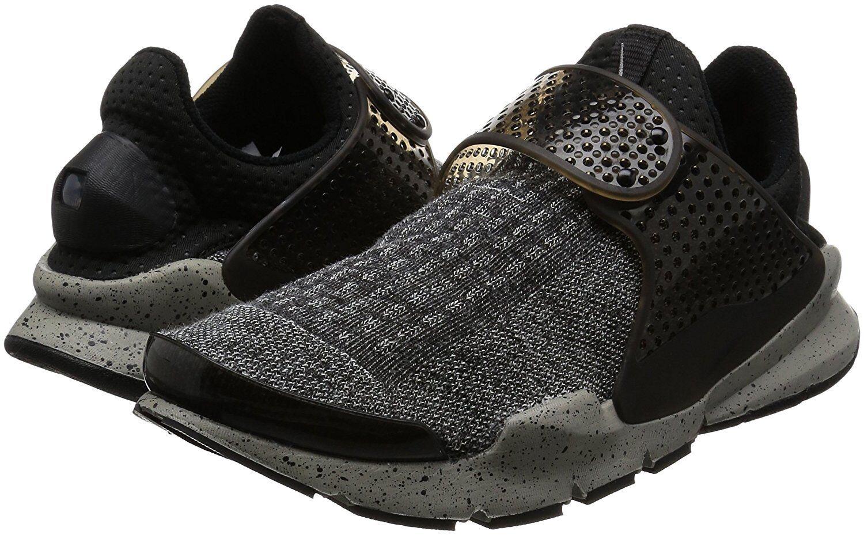f208a4db6aefa Men's Nike Sock Dart SE Premium Running Shoes, 859553 001 Sizes 7-14  Black/White