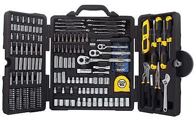 Tool Kit Case Socket Drive Screwdriver Set Complete Tool Pack At Home Mechanic