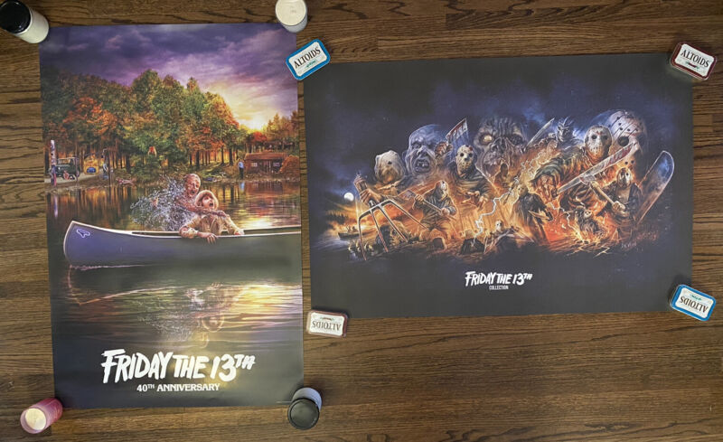 FRIDAY THE 13TH 24x36 Lithograph & Poster - Scream Factory Exclusive *Sold Out*