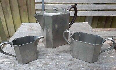 Vintage Pewter Coffee Set