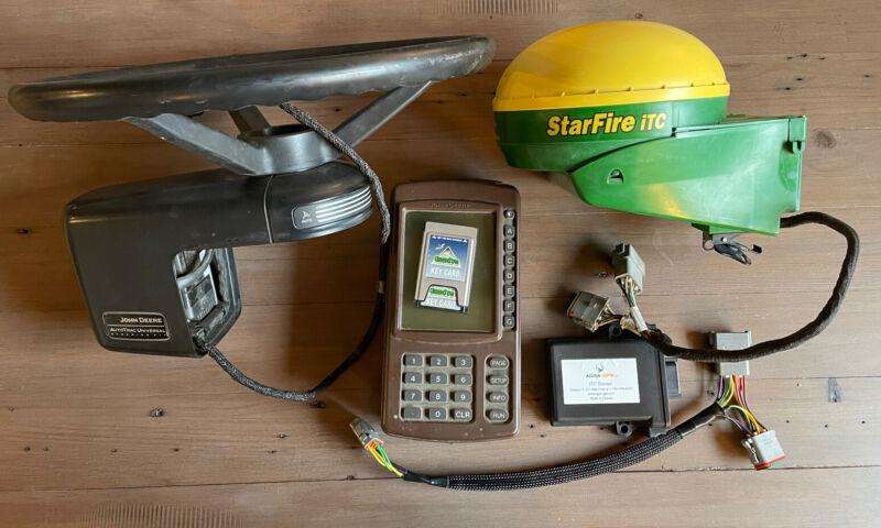 John Deere Greenstar Starfire Autosteer System AGRA GPS iTC Extend And ATU