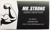 Mr. Strong General labour work