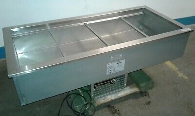 Delfield N8156b Commercial 4 Well Refrigerated 56x 26 Drop-in Cold Pan. Our 4