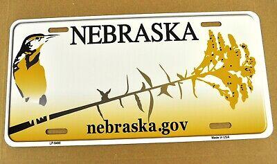 USA Nebraska Auto Nummernschild License Plate Deko Blechschild