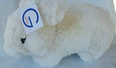 "Gund Plush Stuffed Animal Bunny Rabbit 14"" Tall Super Soft Brand New"