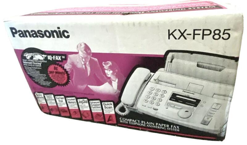 Panasonic Fax Machine KX-FP85 - New In Box KXFP85