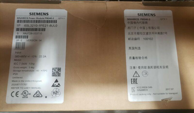 Siemens, 6SL3210-1PE21-8UL0
