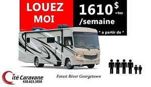 2018 Forest River LOCATION CLASSE A GEORGETOWN 25pieds a 33 pied
