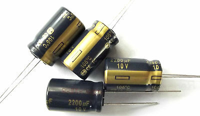 2200uf 10v 105c Panasonic EEUFC1A222 LOW ESR  x4pcs