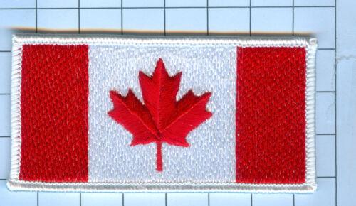 International Flag Patch Canada