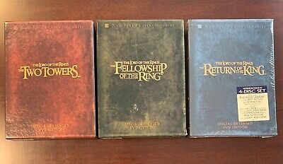 The Lord of The Rings Trilogy - Special Extended Edition DVDs - Very Nice