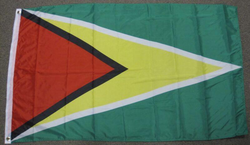 NEW 3X5 GUYANA FLAG 3