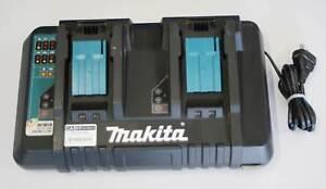 Makita 18V Li-Ion Cordless Battery Same Time Dual Port Charger Nerang Gold Coast West Preview