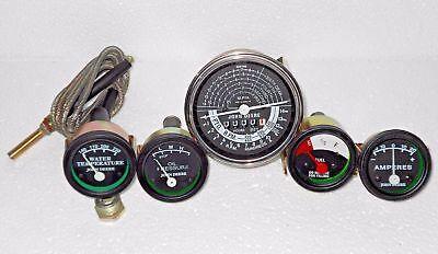 John Deere Tractor Tachometer Temp Oil Amp Fuel Gauge