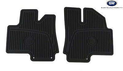 2010-2016 Cadillac SRX Premium All Weather Front Floor Mats 19172258 Black OEM