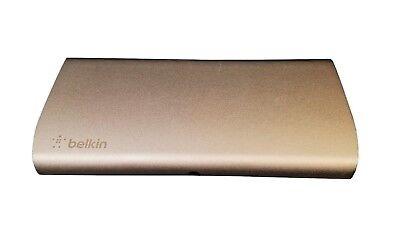 Belkin Thunderbolt Express Dock F4U055 w/AC Adapter