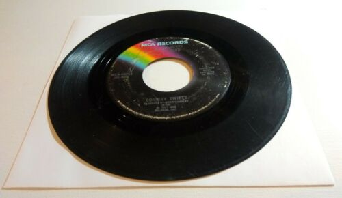 1977 Conway Twitty I ve Already Loved You / Changed My Mind G 45 RPM 7 Record - $4.94