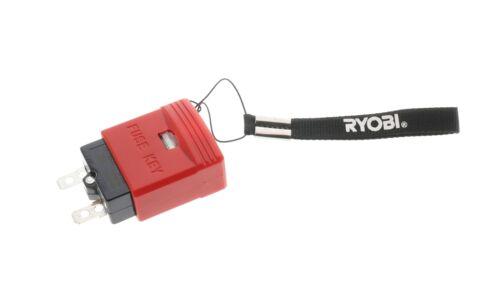 Ryobi OEM Fuse Key 307010001 for RY40107 40V Lawnmower