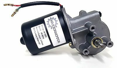 Makermotor 10mm 2-flat Shaft Electric Gear Motor 24v Low Speed 50 Rpm Dc