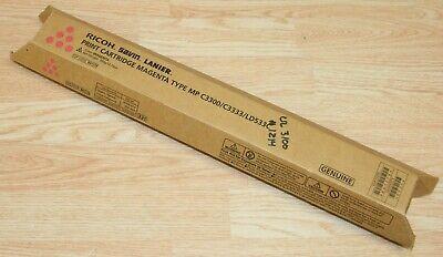 New Genuine Ricoh 841278 Magenta Toner Cartridge Mp C3300 C3333 Ld533c