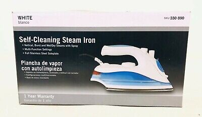 Everstar ES-211 Self-Cleaning Steam Iron - White
